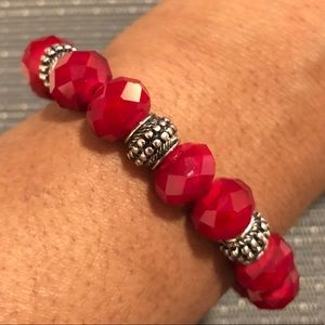 Jewelry - Ruby Red Crystal Bracelet